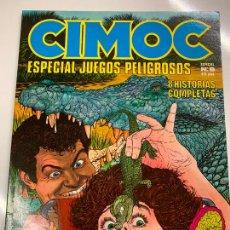 Cómics: CIMOC ESPECIAL JUEGOS PELIGROSOS, NUM 8, EDITORIAL NORMA. Lote 268860534