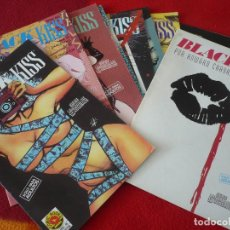 Cómics: BLACK KISS NºS 4, 5, 6, 7, 8, 9, 10, 11 Y 12 ( HOWARD CHAYKIN ) ¡BUEN ESTADO! NORMA. Lote 269337288
