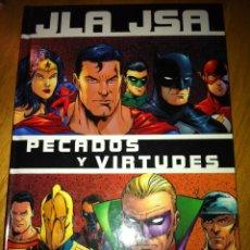 Comics: JLA/JSA:PECADOS Y VIRTUDES NUMS. 1. Lote 269263193