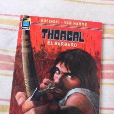 Cómics: THORGAL Nº 100: EL BARBARO; ROSINSKI , VAN HAMME; NORMA EDITORIAL. Lote 269494803