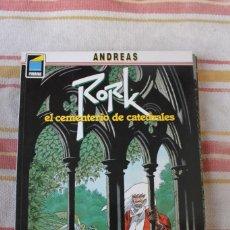 Cómics: RORK Nº 1: EL CEMENTERIO DE CATEDRALES; ANDREAS ; NORMA EDITORIAL. Lote 269495613