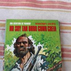 Cómics: UNA AVENTURA DE HOMBRE Nº 42: NO SOY TAN DURO COMO CREIA; ANTONIO SEGURA-JOSE ORTIZ; NORMA EDITORIAL. Lote 269495688