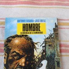 Cómics: HOMBRE: LA HERENCIA DE LA HUMANIDAD ANTONIO SEGURA-JOSE ORTIZ; NORMA EDITORIAL. Lote 269495738