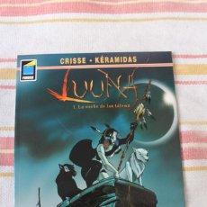 Cómics: LUUNA Nº 1: LA NOCHE DE LOS TETEMS; CRISSE - KERAMIDAS; NORMA EDITORIAL. Lote 269495903