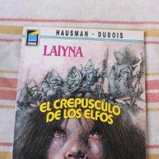 Cómics: LAIYNA Nº 31: EL CREPUSCULO DE LOS ELFOS; HAUSMAN -DUBOIS; NORMA EDITORIAL. Lote 269496013