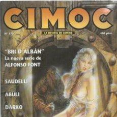 Cómics: CIMOC 175, 1996, NORMA, BUEN ESTADO. Lote 269733813