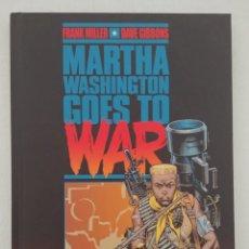 Cómics: MARTHA WASHINGTON GOES TO WAR. Lote 269752173