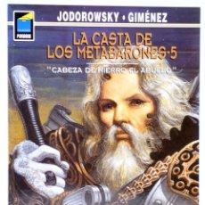 Cómics: LA CASTA DE LOS METABARONES 5. CABEZA DE HIERRO, EL ABUELO (JODOROWSKY) NORMA, 2000. RÚSTICA. OFRT. Lote 269768013
