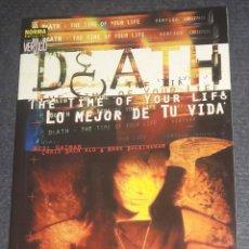 Cómics: COLECCIÓN VÉRTIGO DEATH : LO MEJOR DE TU VIDA MUERTE NORMA EDITORIAL NEIL GAIMAN BACHALO. Lote 270162088