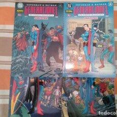 Comics: DC NORMA EDITORIAL SUPERMAN & BATMAN GENERACIONES UN CUENTO IMAGINARIO JOHN BYRNE COMPLETA. Lote 270616028