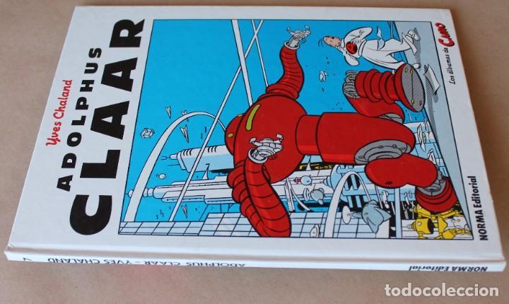 Cómics: Los álbumes de CAIRO - YVES CHALAND – 7 ADOLPHUS CLAAR - Norma, En cartoné, 1ª edición año 1985 - Foto 2 - 270665788