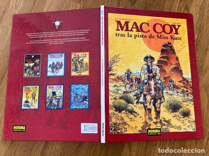 Cómics: MAC COY 21 - TRAS LA PISTA DE MISS KATE - NORMA EDITORIAL - BUEN ESTADO - Foto 2 - 270695253