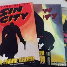 Cómics: SIN CITY : ESE COBARDE BASTARDO 4 TEBEOS (1,2,3 Y 4) FRANK MILLER REF. UR MES. Lote 270917718
