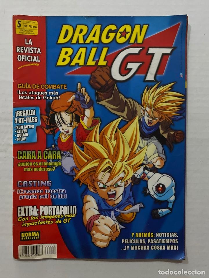 REVISTA DRAGON BALL GT,Nº 5,MARZO 1999,NORMA EDITORIAL (Tebeos y Comics - Norma - Otros)