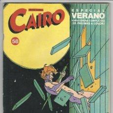 Cómics: NORMA. CAIRO. 59.. Lote 271180888