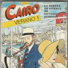 Cómics: NORMA. CAIRO. VERANO 1.. Lote 271180948