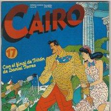 Cómics: NORMA. CAIRO. 17.. Lote 271180988