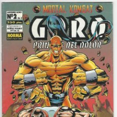 Comics: NORMA. MORTAL KOMBAT. GORO PRINCIPE DEL DOLOR. 9. Lote 271236688