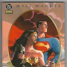 Cómics: NORMA. TRINITY. BATMAN. SUPERMAN. WONDER WOMAN. WAGNER.. Lote 271328603