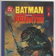 Comics: NORMA. BATMAN CONTRA PREDATOR. 1. Lote 271338278