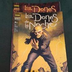 Cómics: JOHN BOLTON - LOS DONES DE LA NOCHE - SERIE COMPLETA 2 TOMOS - NORMA. Lote 271691733