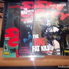 Cómics: LOTE DE TRES - SIN CITY: THE BIG FAT KILL 2-3-4 DE 5 -COMIC BOOK- (NORMA). Lote 271830193