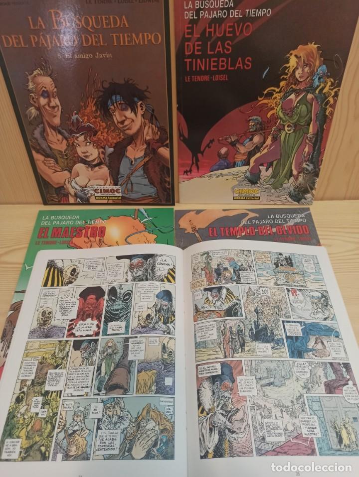 5 COMICS LA BUSQUEDA DEL PÁJARO DEL TIEMPO - LE TENDRE LOISEL CIMOC EXTRA (Tebeos y Comics - Norma - Cimoc)