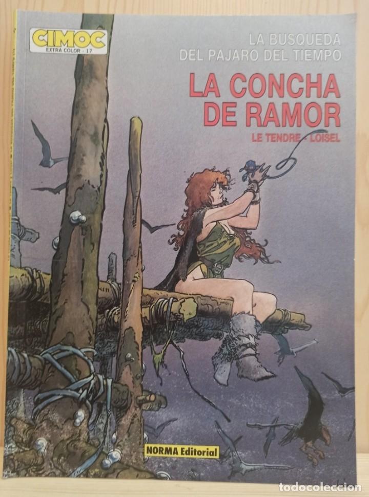 Cómics: 5 COMICS LA BUSQUEDA DEL PÁJARO DEL TIEMPO - LE TENDRE LOISEL CIMOC EXTRA - Foto 3 - 272019448