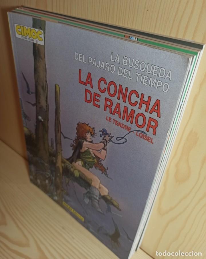 Cómics: 5 COMICS LA BUSQUEDA DEL PÁJARO DEL TIEMPO - LE TENDRE LOISEL CIMOC EXTRA - Foto 4 - 272019448
