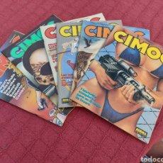 Cómics: CIMOC COMIC DE LOS 80, REVISTA GRANDES SERIES DE AVENTURAS, N°S:84,85,86,87,88 Y 89, NORMA EDITORIAL. Lote 272123803
