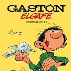 Cómics: GASTÓN ELGAFE DE ANDRÉ FRANQUIN 1 2 3 4 5 COMPLETA - NORMA / EDICIÓN INTEGRAL / TAPA DURA. Lote 272238408