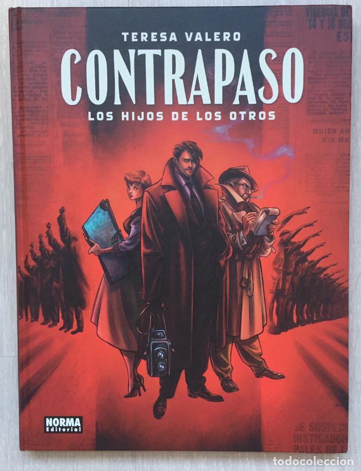 CONTRAPASO. LOS HIJOS DE LOS OTROS, DE TERESA VALERO. 2ª EDICIÓN. NORMA EDITORIAL. EUROPEO (Tebeos y Comics - Norma - Otros)