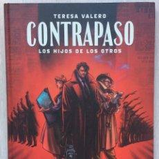 Cómics: CONTRAPASO. LOS HIJOS DE LOS OTROS, DE TERESA VALERO. 2ª EDICIÓN. NORMA EDITORIAL. EUROPEO. Lote 272489363