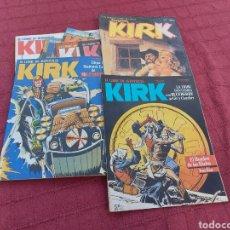 Cómics: EL COMIC DE AVENTURAS KIRK (SARGENTO KIRK ,BLUEBERRY, JUEZ DREED ),CIENCIA FICCIÓN, OESTE, AÑOS 80. Lote 272755833