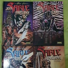 Comics: JON SABLE FREELANCE 01 A 04 (COMPLETA). MIKE GRELL. NORMA EDITORIAL. Lote 273768263