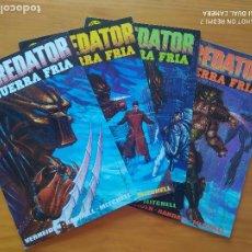 Comics: PREDATOR GUERRA FRIA - COMPLETA - 4 NUMEROS - NORMA EDITORIAL (GD). Lote 274260028