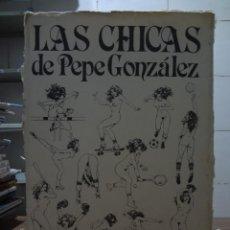 Cómics: PORTAFOLIO - LAS CHICAS DE PEPE GONZALEZ - 10 LAMINAS - NORMA EDITORIAL. Lote 274288523