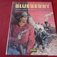 Cómics: LA JUVENTUD DE BLUEBERRY HAY QUE MATAR A LINCOLN 44 ( CORTEGGIANI BLANC-DUMONT) ¡MUY BUEN ESTADO!. Lote 274307948