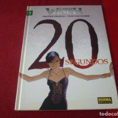 Cómics: 20 SEGUNDOS LARGO WINCH 20 ( FRANCQ VAN HAMME ) ¡MUY BUEN ESTADO! NORMA TAPA DURA. Lote 274524708