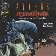 Comics : ALIENS APOCALIPSIS - LOS ANGELES DE LA DESTRUCCION Nº1 DE 2 - PERFECTO ESTADO !!. Lote 274555478