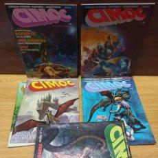 Comics: CIMOC NORMA - NUMEROS 1-2-3-4-5-6 Y 10 - BUEN ESTADO. Lote 274584903