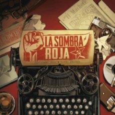 Cómics: CÓMICS. LA SOMBRA ROJA - JEAN-PIERRE PÉCAU / JANDRO GONZÁLEZ (CARTONÉ). Lote 274728938