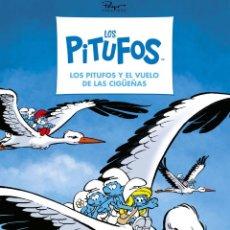 Cómics: CÓMICS. LOS PITUFOS 39. LOS PITUFOS Y EL VUELO DE LAS CIGÜEÑAS - PEYO CREATIONS (CARTONÉ). Lote 274736418
