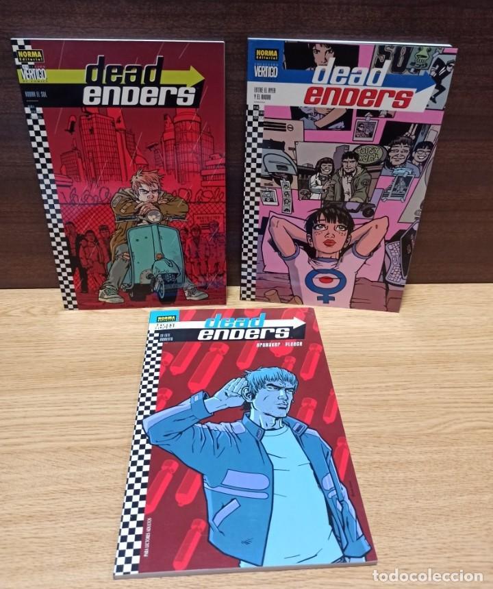 DEAD ENDERS 3 VOLUMENES - NORMA - MUY BUEN ESTADO (Tebeos y Comics - Norma - Otros)
