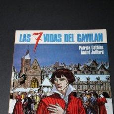 Cómics: LAS 7 VIDAS DEL GAVILAN 7 LA MARCA DEL CONDOR Nº 96 - COTHIAS / JUILLARD. Lote 275044733