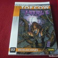Cómics: ARCHIVOS TOP COW WITCHBLADE Nº 2 REVELACIONES ( TURNER CHRISTINA Z ) ¡BUEN ESTADO! NORMA IMAGE. Lote 275197658