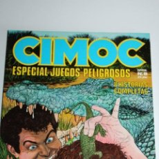 Comics: CIMOC -ESPECIAL JUEGOS PELIGROSOS -ESPECIAL NUM:8. Lote 275208978