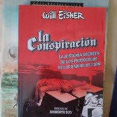 Comics: LA CONSPIRACIÓN - WILL EISNER. Lote 275228273