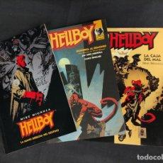 Fumetti: HELLBOY - LA MANO DERECHA DEL DESTINO - LA CAJA DEL MAL - DESPIERTA AL DEMONIO - MIKE MIGNOLA NORMA. Lote 275275513