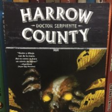 Cómics: HARROW COUNTY 3. DOCTOR SERPIENTE, DE TYLER CROOK Y CULLEN BUNN. NORMA. Lote 275338978